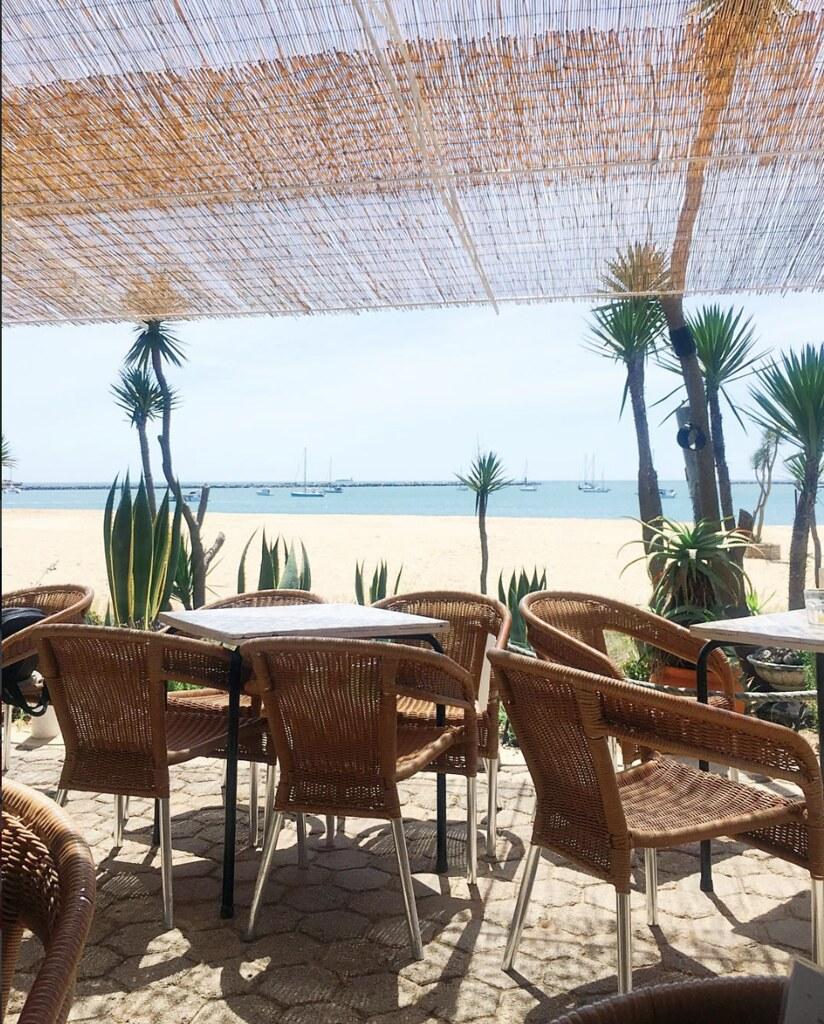 Kalu Beach Bar in Ferragudo