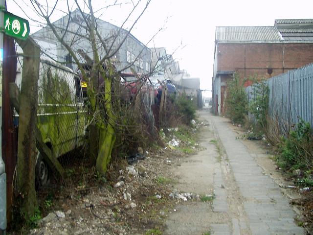 The Saxon Shore Way at Gravesend