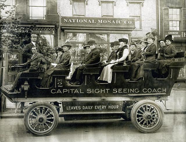 Anna & Ed Sadler wedding trip, 1910