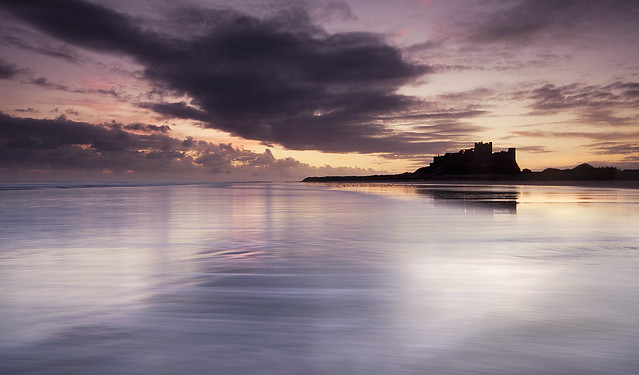 Bamburgh shadow.