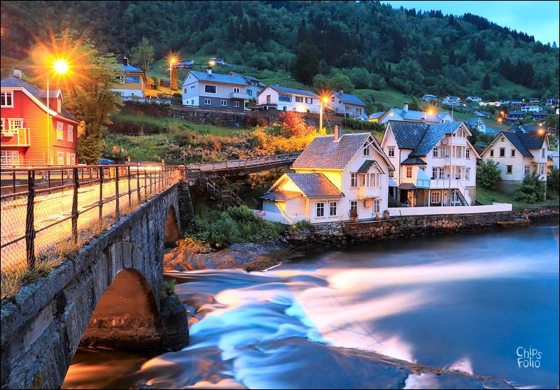 The Old Bridge, Norheimsund, Norway
