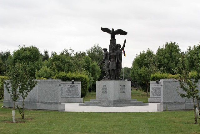 National Arboretum, England - The Polish Armed Forces Monument.