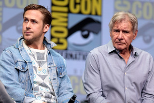 Ryan Gosling & Harrison Ford | by Gage Skidmore