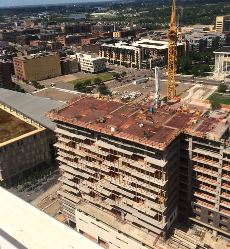 Ritz Residences construction from 300 feet Minneapolis 7-29-17 | by bapster2006