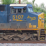 "CSXT #5107 ""The W. Thomas Rice Special"""