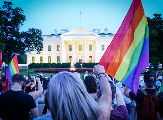 2017.07.26 Protest Trans Military Ban, White House, Washington DC USA 7682 | by tedeytan