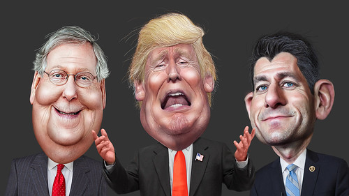 Republican Death Panel | by DonkeyHotey