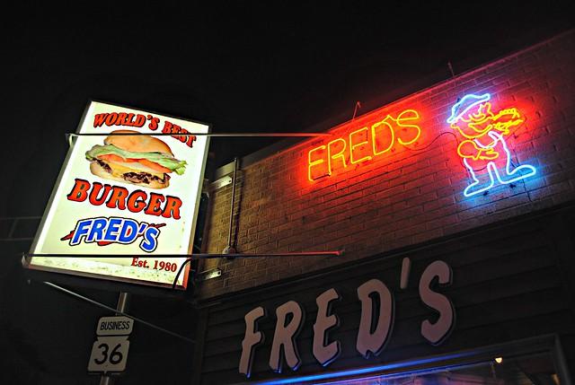 Fred's, Burlington Wisconsin