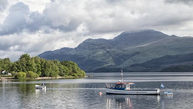 Loch Lomond. Scotland.