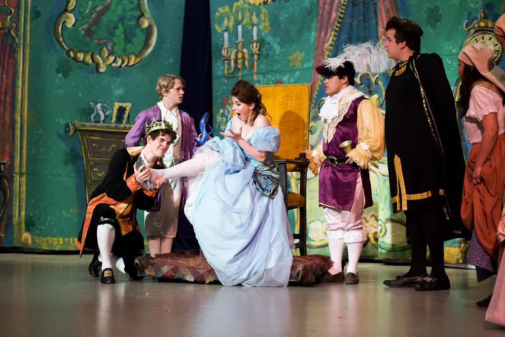 "A huge hit, Upper School's 2017 spring production of ""Cinderella"" involved a third of the students."