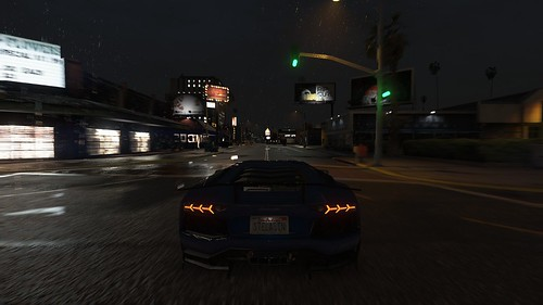 Rainy Night - GTA V | by Stellasin