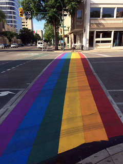 Rainbow Crosswalk 1 | by daryl_mitchell