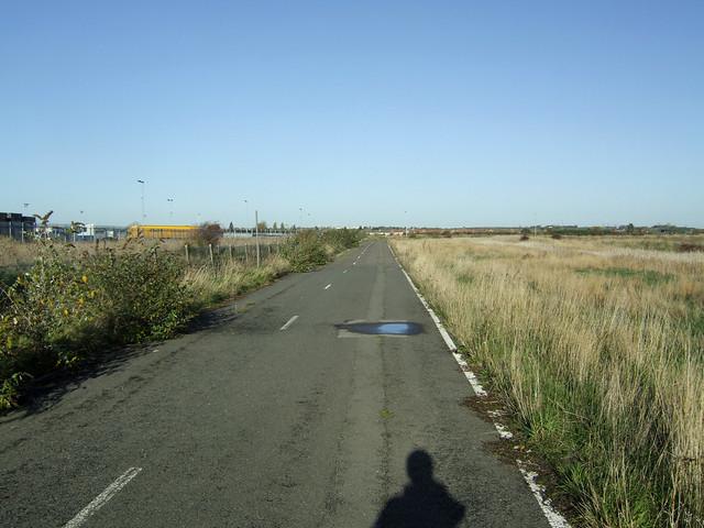 Disused road at Tilbury