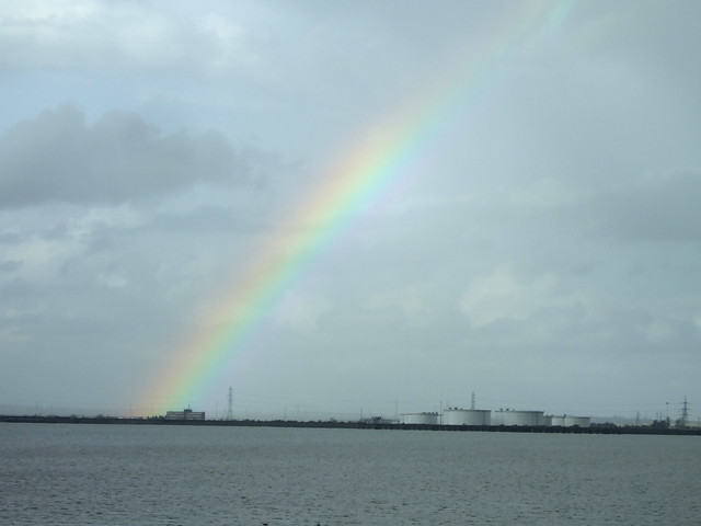 Rainbow over the Thames