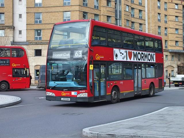 Go Ahead London Central -DOE39 - LX09BXH