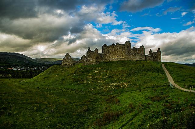 Ruthven Barracks Kingussie Scotland