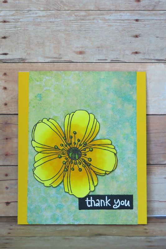 Yellow Flower Thank You