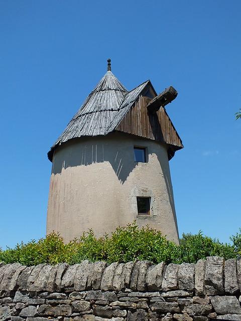 Saint-Chels - Le moulin du Pech de Granat