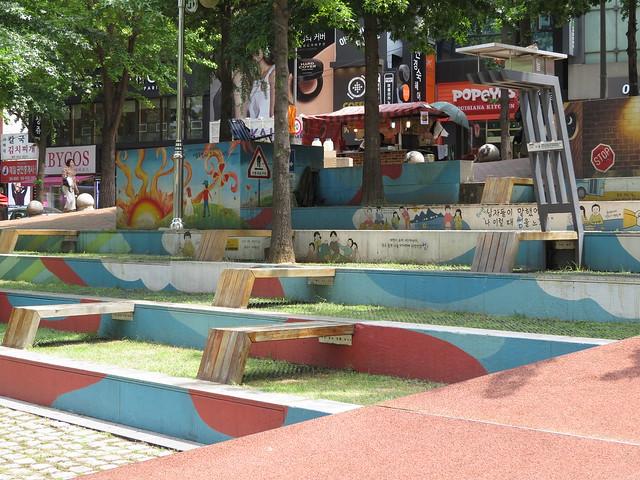 Ewha Campus: Park