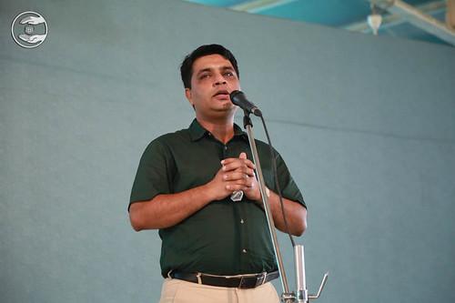 Naveen Bhashi from Patel Nagar, expresses his views