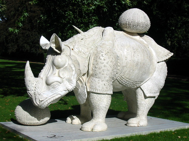 Dali, rhinocéros