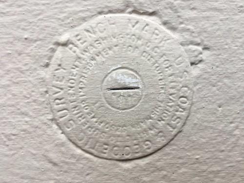 USCGS Bench Mark U4 1916 Live Oak FL