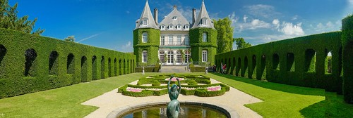 lahulpe castle landscape château solvay sky blue