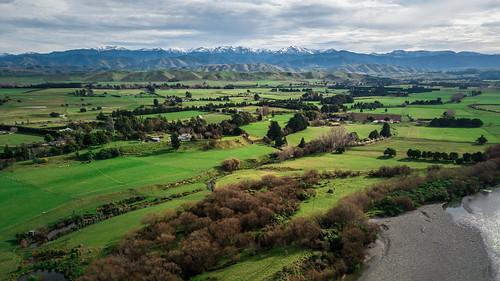2017 aerial djimavicpro drone landscape masterton newzealand northisland river ruamahngariver rural tararuaranges opaki wellington nz