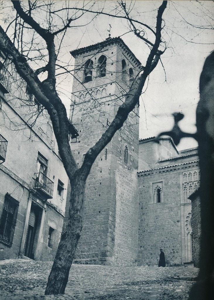 Iglesia de Santa Leocadia en Toledo hacia 1967 por Marc Flament.