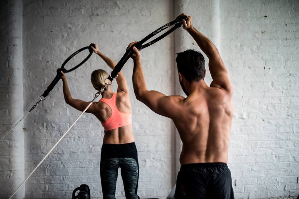 Reformer Pilates Photography - Couple Arm Exercise   Flickr