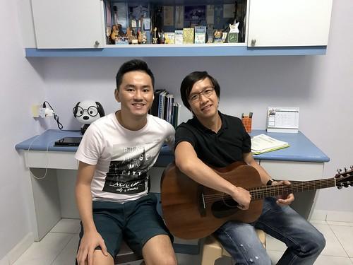 Adult guitar lessons Singapore David