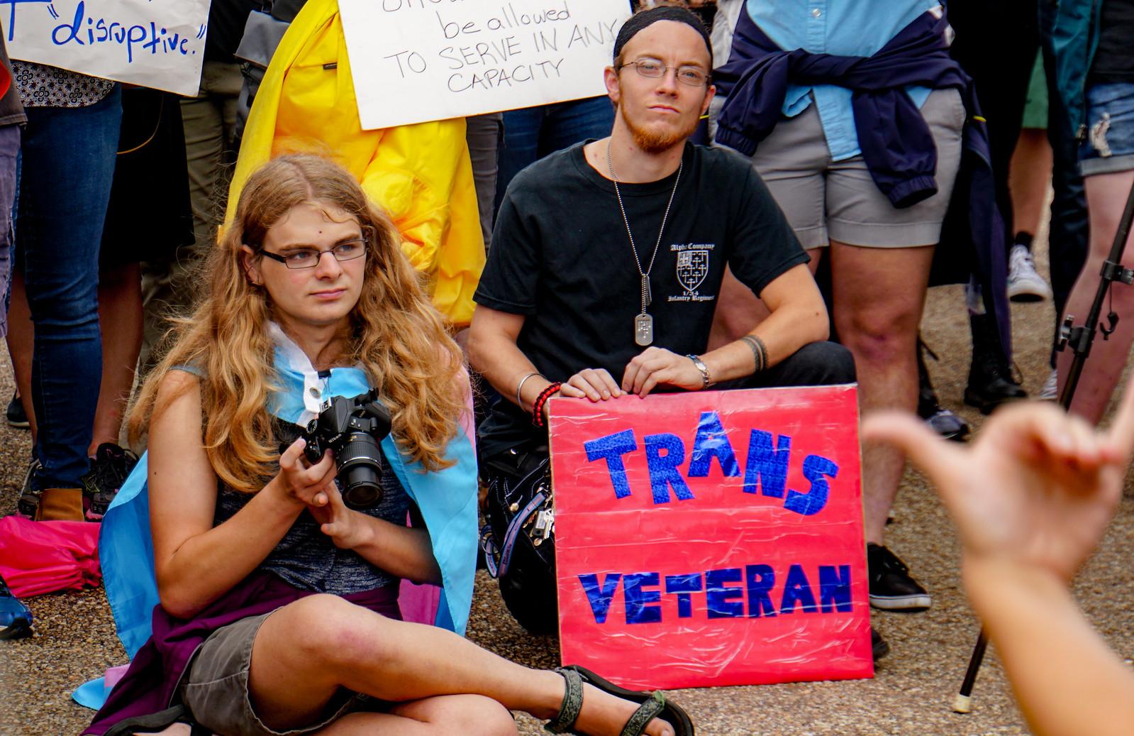2017.07.29 Stop Transgender Military Ban, Washington, DC USA 7727