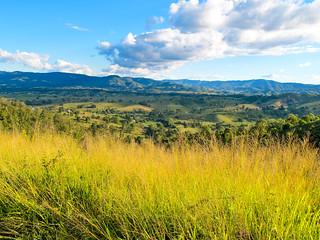 Looking from Kings Scrub (Mt Mee Road) back towards Dayboro, Queensland, Australia