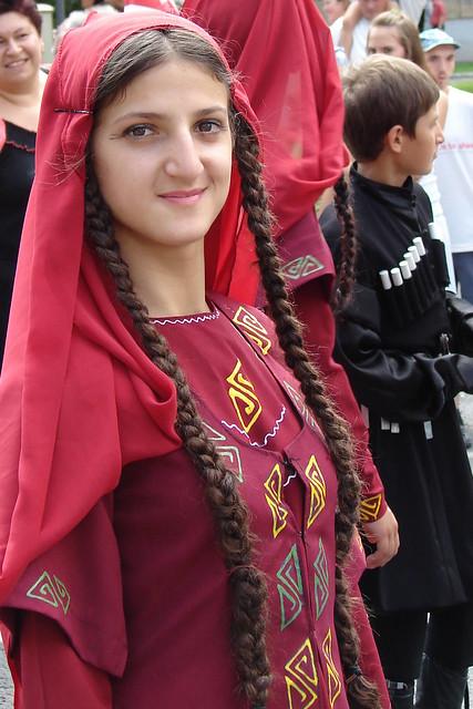 Georgian girl, Tarikoni dance group