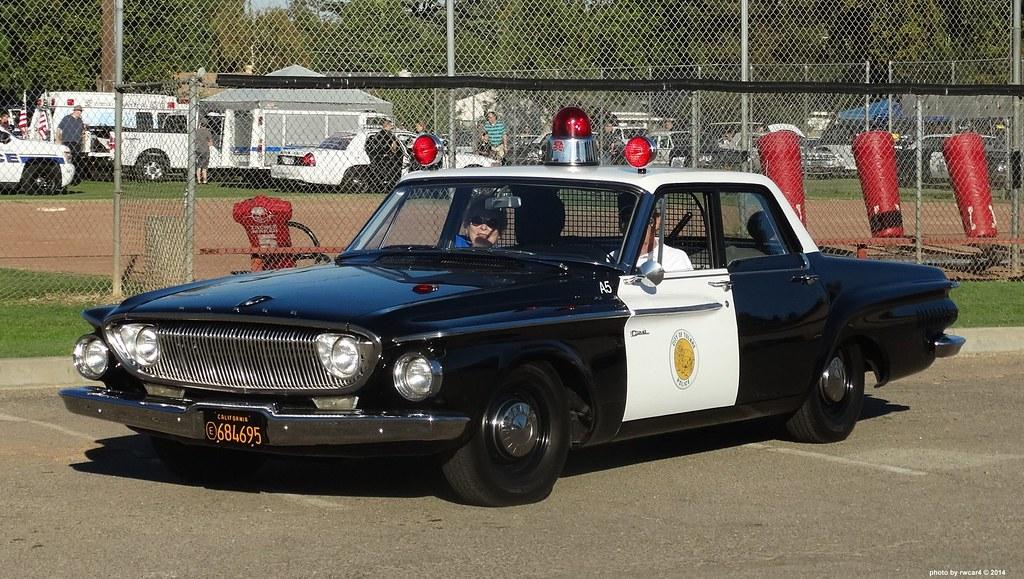 Tulare Ca Police 1962 Dodge Dart 330 Restored Replica 22 A Photo On Flickriver