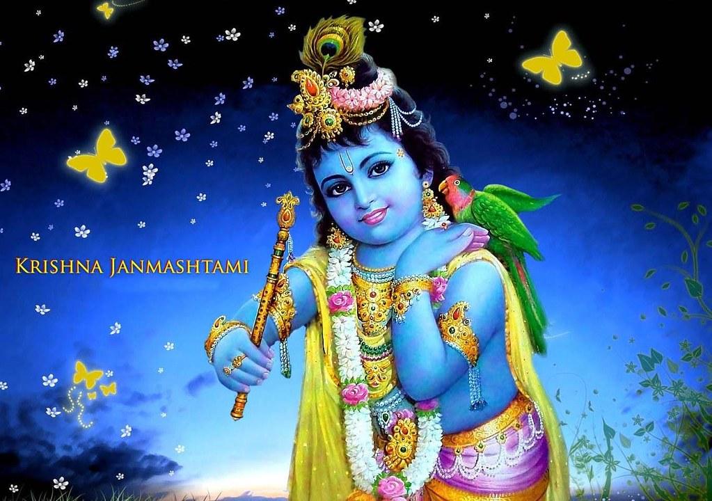 Happy Krishna Janmashtami Hd 3d Wallpaper Happy Krishna Ja Flickr