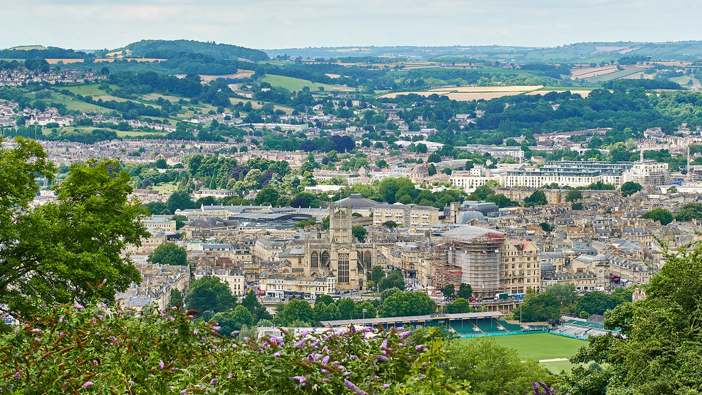 A photo of Bath city.