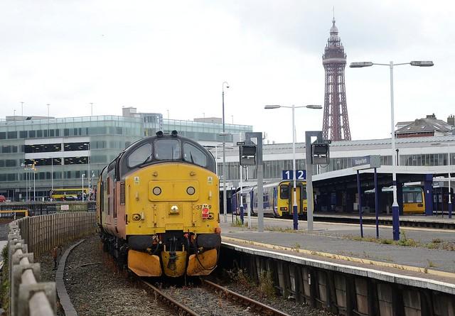Blackpool Test Train