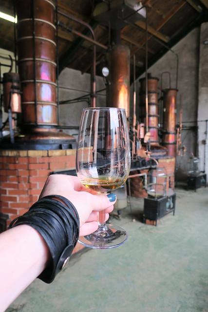 Cider brandy at Somerset Cider Brandy Company