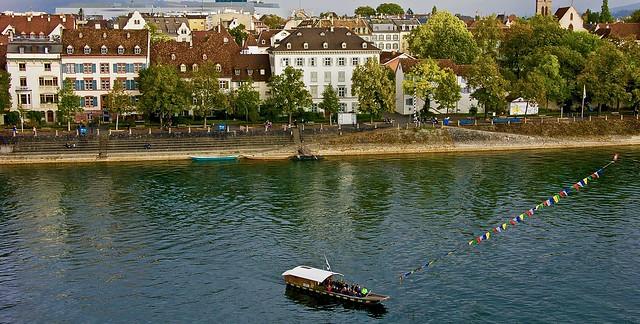 The lovely city of Basel