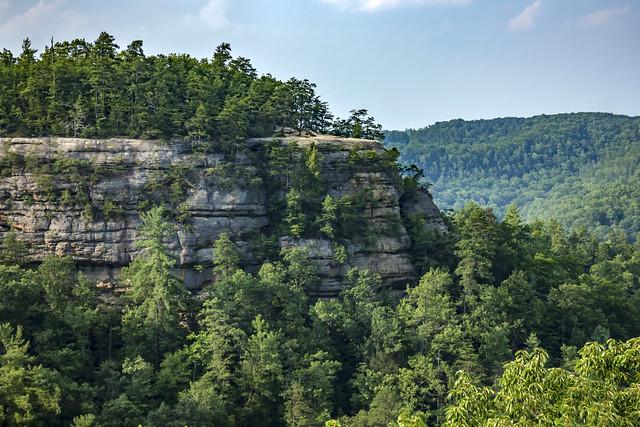 Overlook, Natural Bridge State Resort Park, Powell County, Kentucky 1