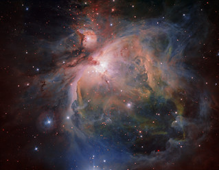 The Orion Nebula and cluster from the VLT Survey Telescope | by European Southern Observatory