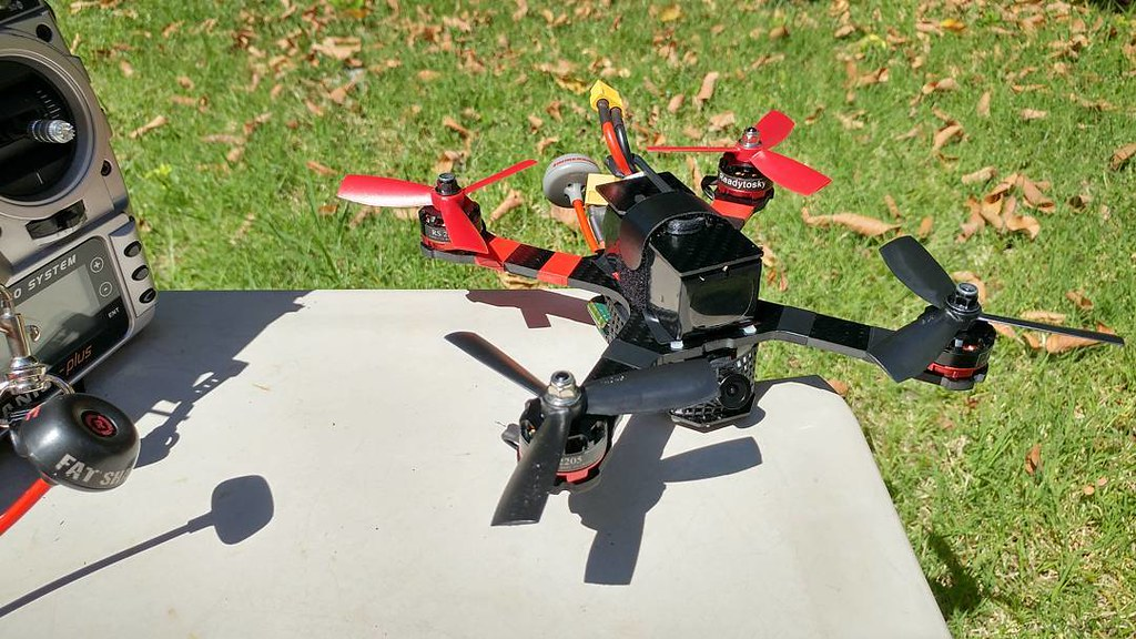 fpv scratch build, tested failsafe, hover & LOS flight tod