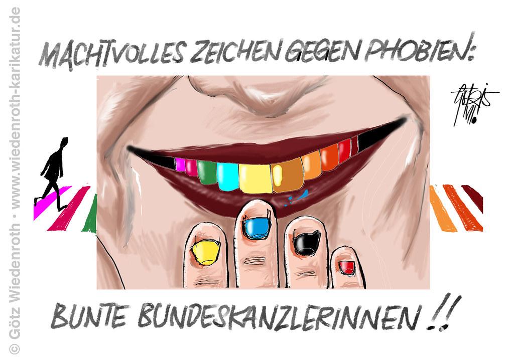 Karikaturen für Sexualerziehung