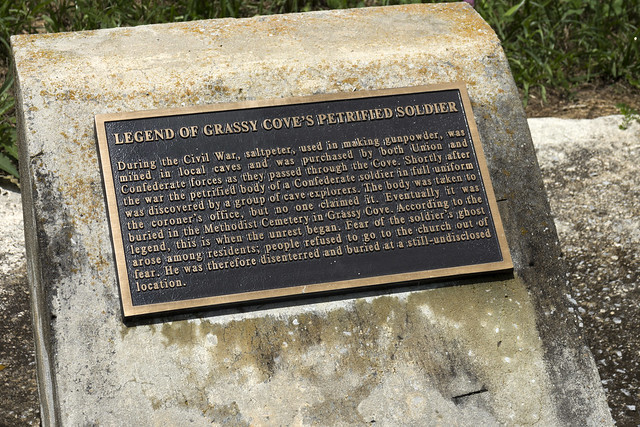 Historic Marker, Cumberland County, Tennessee