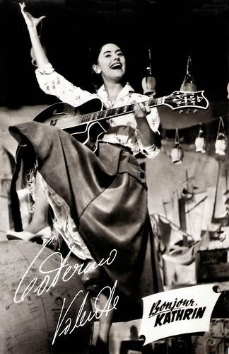 Caterina Valente in Bonjour, Kathrin (1956)