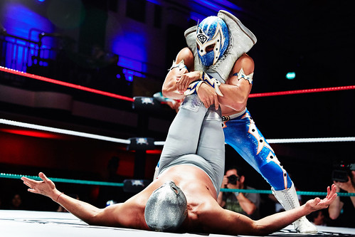 THE GREATEST SPECTACLE OF LUCHA LIBRE at York Hall | by Ambra Vernuccio