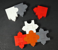 Jugsaw Puzzle Pieces by Legopold