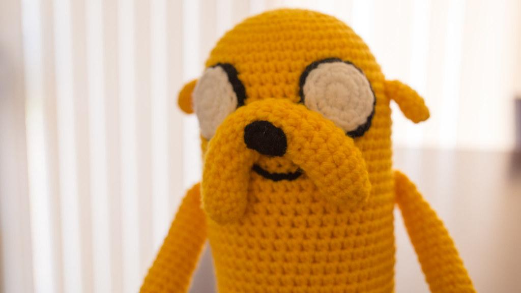 Jake the Dog Amigurumi Pattern PDF Crochet Pattern | Etsy | 576x1024