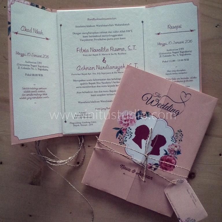 Contoh Undangan Pernikahan Lipat 3 Nyari Kartu Undangan Pe Flickr